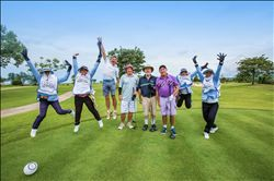 Golfers Tee-Off at Asia's Largest Golf Tournament