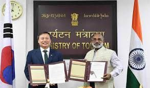 India inks MoU with Korea to expand bilateral cooperation in tourism sector