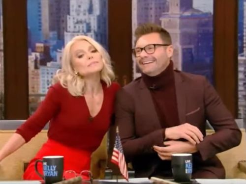 Kelly Ripa tells co-host Ryan Seacrest he is a privilege to work with following sexual misconduct allegations against him