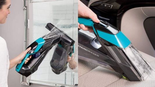 Bissell's Pet Stain Eraser Also Cleans Glass, and It's On Sale For the First Time Ever