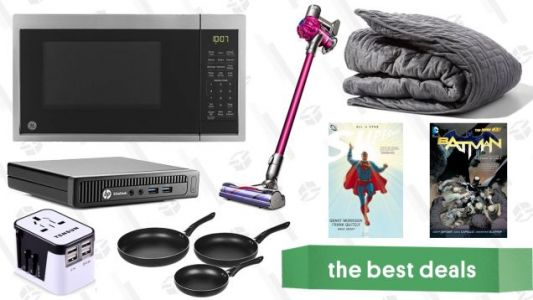 Thursday's Best Deals: Dyson V6, Gravity Blanket, Mini Desktop, and More