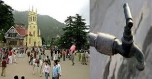 Shimla hits major water crisis which slumps its tourism sector