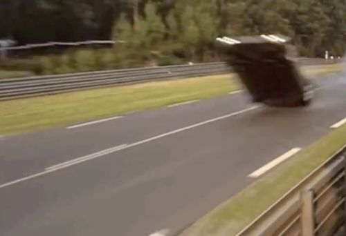 Here's Precisely Why Mercedes Infamously Flipped Three Times at Le Mans