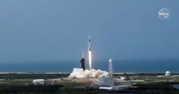 SpaceX just launched its historic mission to fly NASA astronauts to space