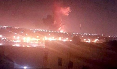 Massive blast at Cairo airport injures 12 after fuel station explodes