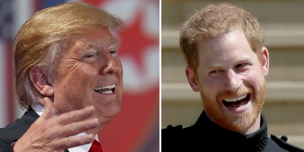 Meghan Markle's dad said Prince Harry told him to give Donald Trump 'a chance'