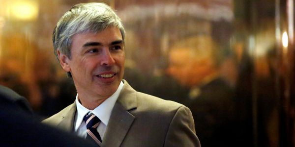 Larry Page once led a Google project that would shoot bicyclists 35 miles down a glass tube, from its headquarters to San Francisco