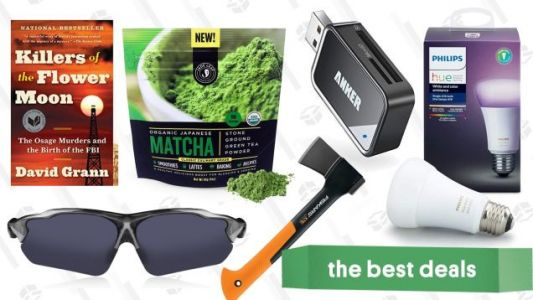 Sunday's Best Deals: Philips Hue, Matcha Powder, Historical Nonfiction, and More