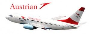 Initial Austrian Airlines Flight Lands In Cape Town