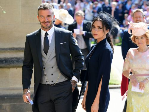 Victoria Beckham knows that people wanted her to smile more at the royal wedding - she just doesn't care