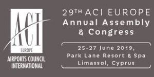 29th ACI Europe Annual Assembly & Congress to be held in June 19'