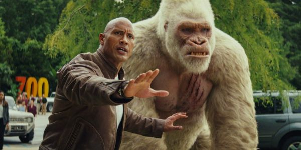 The Rock's 'Rampage' beats out 'A Quiet Place' to top the box office - and does even better overseas