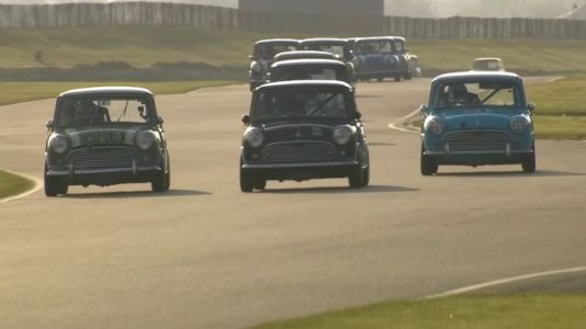 Mini Vintage Racing is the Best Spectator Sport