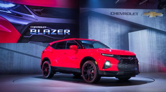 Chevy just revealed its new Blazer SUV, but don't expect it to challenge Ford's Bronco