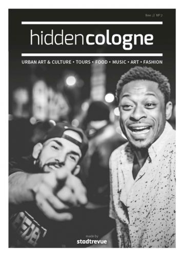 Hidden cologne - urban city guide to be published for the second time