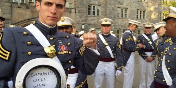 'Commie Cadet' has been kicked out the Army for advocating communist revolt