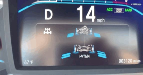 Watching the 2019 Honda Pilot's Torque Management System in Real Time Is Fascinating