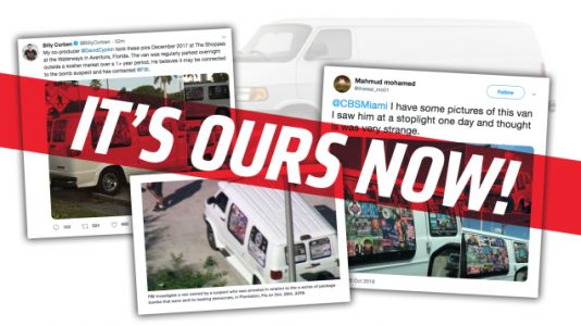 The American People Now Own That Mail Bomber's Nutty Van