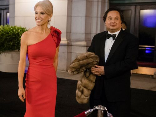 A history of the times Kellyanne Conway's husband has roasted Trump