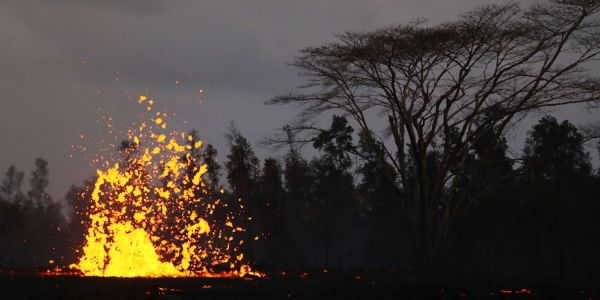 Hawaii's Kilauea volcano is still spewing out lava, and new cracks in the earth are opening hours after it erupted