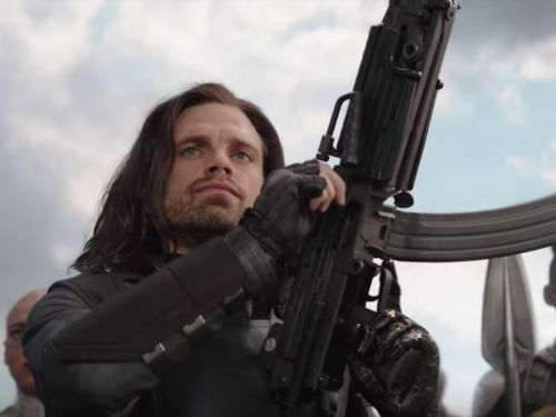 'Avengers: Infinity War' star Sebastian Stan says he learned about his character's fate right before filming