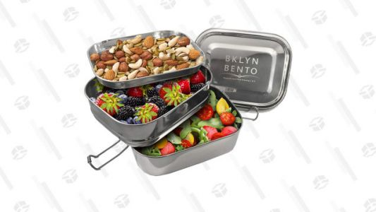Upgrade Your Lunch Box with This Stainless Steel Bento for $25