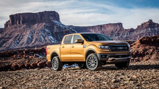 The 2019 Ford Ranger Matches Diesel MPG With Gas Engine