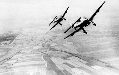 It's been 77 years since the Battle of Britain - here are 14 photos of the Nazi onslaught in the skies of England