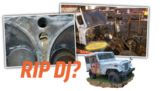 My $500 Postal Jeep Has a Cracked Engine and Now I'm Convinced It Wants to Die