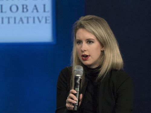 It's a difficult time for the 857 people in the US named Elizabeth Holmes who weren't the creators of Theranos