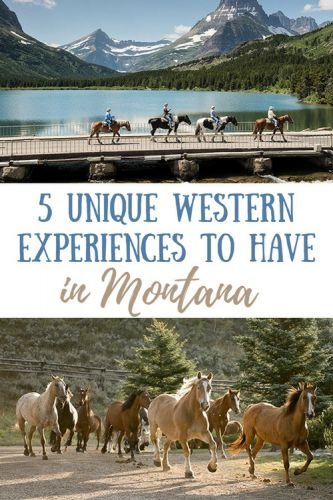 5 Unique Western Experiences to Try in Montana