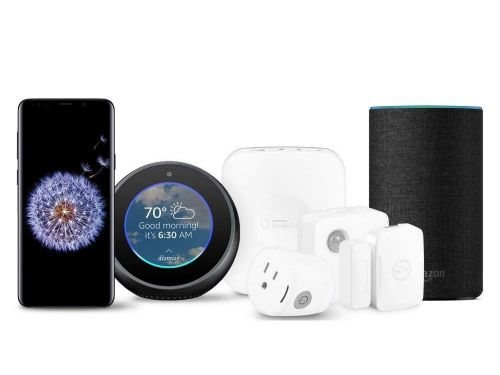 This incredible Samsung Galaxy bundle comes with $430 worth of free smart home tech - including an Amazon Echo