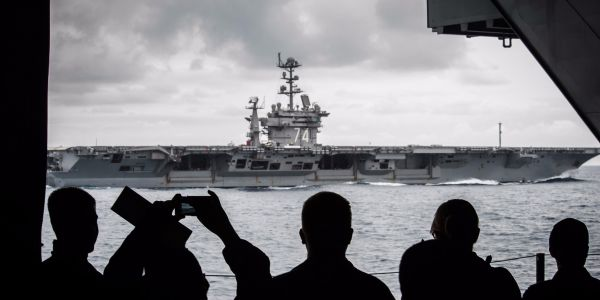 With China gunning for aircraft carriers, US Navy says it has to change how it fights