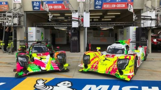 Rebellion's Eye Searing Liveries Will Bring a Splash of Color to Le Mans