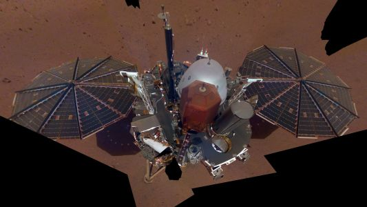 NASA's InSight lander just took its first selfie on Mars - take a look
