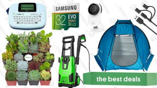 Monday's Best Deals: Succulents, Power Washer, MicroSD Cards, and More