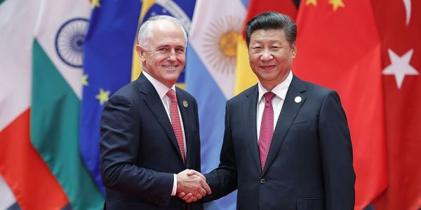 Tensions between Australia and China are growing as Canberra looks for a way to limit Beijing's growing influence