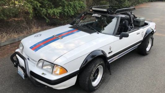 "Could This Zany 1991 ""Baja"" Ford Mustang Get You to Pony Up $5,500?"