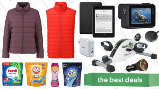 Monday's Best Deals: GoPro, Uniqlo Ultra Light Down, Tile, and More