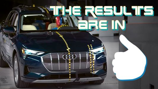 Audi Aces IIHS Crash Tests With Top Safety Pick Plus award for the 2019 e-tron SUV. Here's How