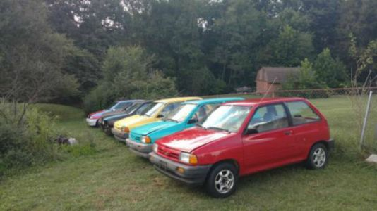 If You've Ever Wanted Six Ford Festivas For $900, Now's Your Chance