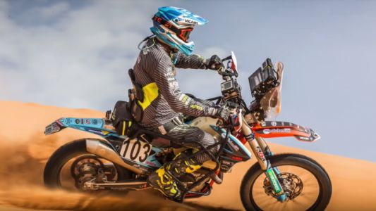 How Paraplegic Motorbike Rider Nicola Dutto Made It to Dakar