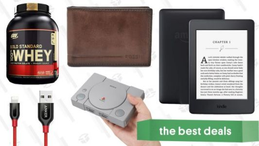 Wednesday's Best Deals: PlayStation Classic, $19 Fossil Wallets, Protein Powder, and More