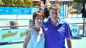 The Burnie International tennis tournament is boosting up local economy