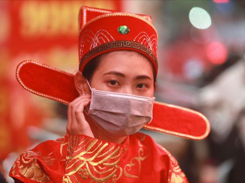 A company in Vietnam has been making masks out of toilet paper amid the coronavirus outbreak. Authorities are considering the highest penalty possible for the offense