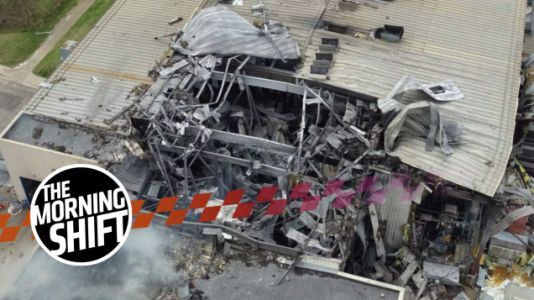 Ford F-150 Supplier Fire Featured Explosion That Threw Employee Through The Air