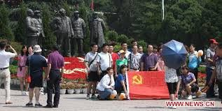 Red tourism boom during China's National Day Holiday