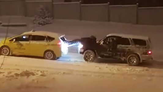 Idiot Invents New Way To Get Seriously Injured By Cars