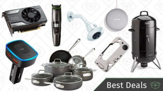 Monday's Best Deals: Grilling Sale, Carabiner Multitool, Graphics Card, and More