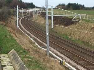 Shotts Line Electrification Completed on Time and on Budget